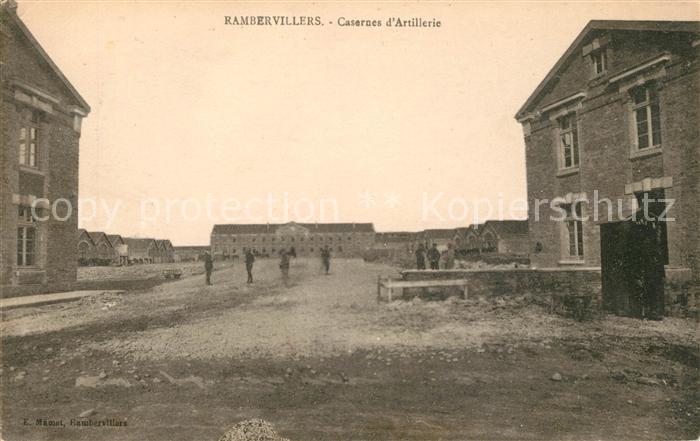 AK / Ansichtskarte Rambervillers Casernes d Artillerie Kat. Rambervillers