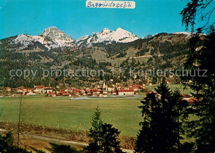 AK / Ansichtskarte Bayrischzell mit Wendelstein Kat. Bayrischzell