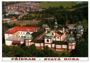 AK / Ansichtskarte Svata Hora Basilica of Queen of Heaven Kat. Tschechische Republik