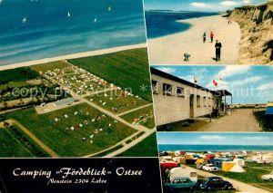 AK / Ansichtskarte Laboe Camping Foerdeblick Ostsee Strand Kat. Laboe