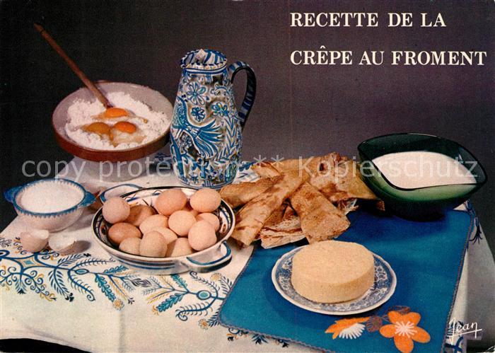 Lebensmittel Recette Crepes au Froment  Kat. Lebensmittel