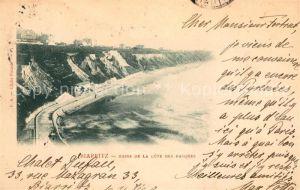 AK / Ansichtskarte Biarritz Pyrenees Atlantiques Bains de la Cote des Basques Kat. Biarritz