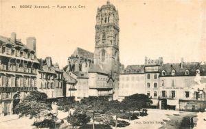 AK / Ansichtskarte Rodez Plage de la Cite Kat. Rodez