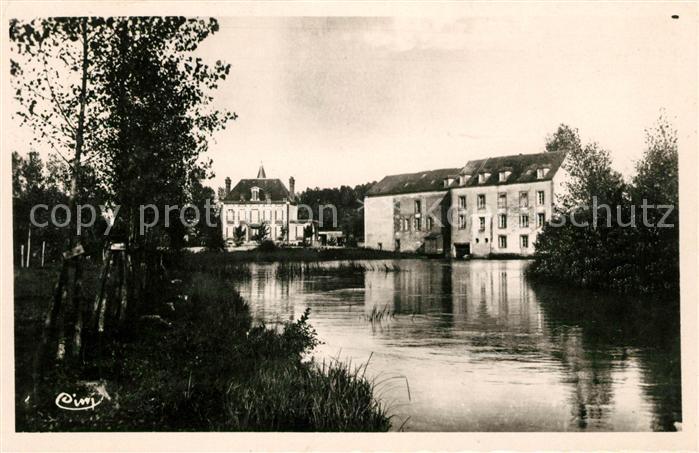 Saint Florentin Yonne Le Moulin Kat. Saint Florentin