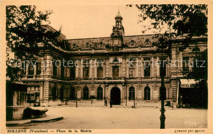Bollene Place de la Mairie Kat. Bollene