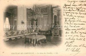 Compiegne Oise Chateau de Compiegne Le Salon des Familles Kat. Compiegne