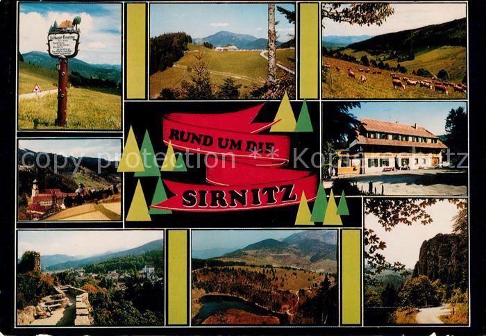 AK / Ansichtskarte Sirnitz Badenweiler Rund um die Sirnitz