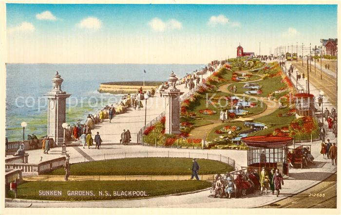 AK / Ansichtskarte Blackpool Sunken Gardens  Kat. Blackpool