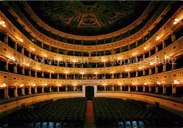 AK / Ansichtskarte Theater Mantova Teatro Sociale  Kat. Theater