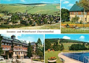 AK / Ansichtskarte Oberwiesenthal Erzgebirge Erholungsheim IG Wismut Aktivist Fichtelberg Kat. Oberwiesenthal