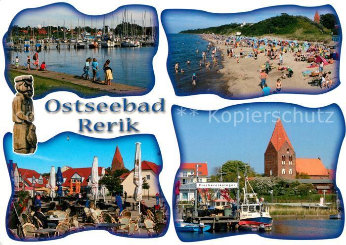AK / Ansichtskarte Rerik Ostseebad Strand Hafen Fischereianleger Kat. Ostseebad Rerik