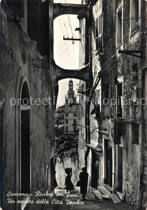 AK / Ansichtskarte Sanremo Citta Vecchia Kat.