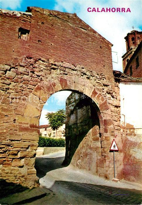 AK / Ansichtskarte Logrono Calahorra Arco San Andres Kat. Logrono