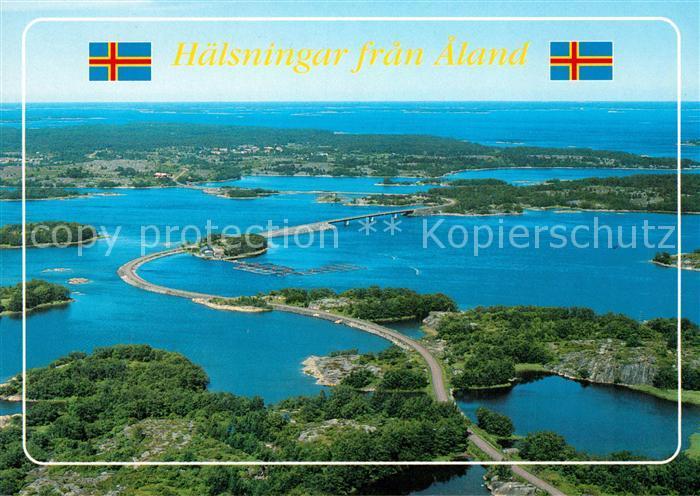 AK / Ansichtskarte Braendoe Fliegeraufnahme Aland Kat. Finnland
