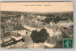 AK / Ansichtskarte Saint Fargeau Yonne Vue generale Kat. Saint Fargeau