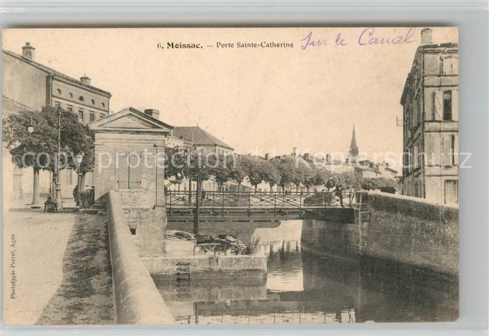 AK / Ansichtskarte Moissac Porte Sainte Catherine Kat. Moissac