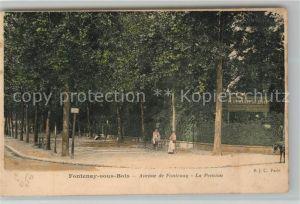 AK / Ansichtskarte Fontenay sous Bois Avenue de Fontenay La Pension Kat. Fontenay sous Bois