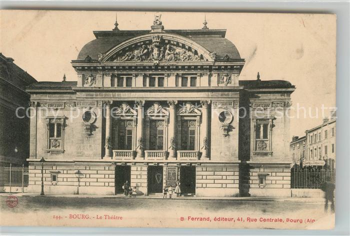 AK / Ansichtskarte Bourg Blaye Le Theatre Kat. Bourg