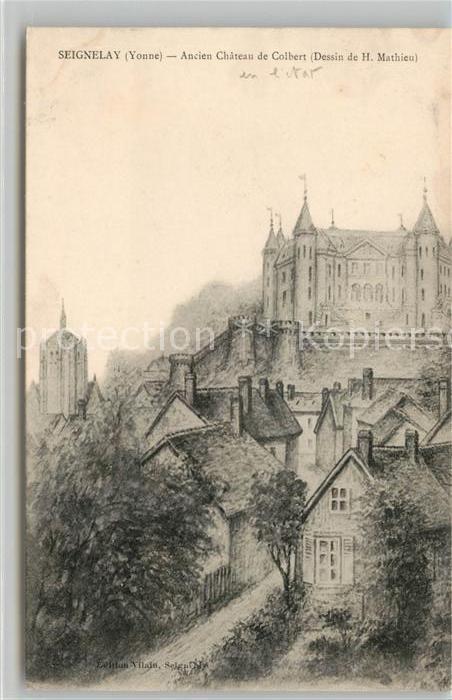 AK / Ansichtskarte Seignelay Ancien Chateau de Colbert Kat. Seignelay