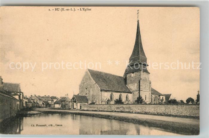 AK / Ansichtskarte Bu Eglise Kat. Bu