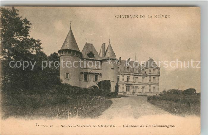 AK / Ansichtskarte Saint Parize le Chatel Chateau de La Chasseigne Kat. Saint Parize le Chatel
