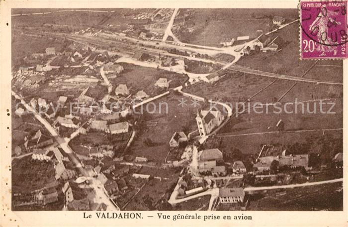 AK / Ansichtskarte Le Valdahon Vue generale prise en avion Kat. Valdahon