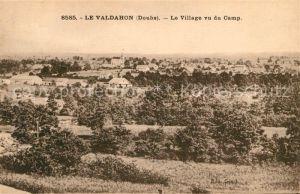 AK / Ansichtskarte Le Valdahon Le Village vu du Camp Kat. Valdahon