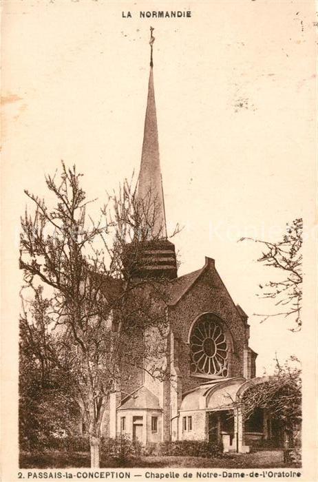 AK / Ansichtskarte Passais Chapelle de Notre Dame de l Oratoire Kat. Passais
