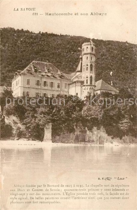 AK / Ansichtskarte Hautecombe et son Abbaye fondee par St Bernard Kat. Saint Pierre de Curtille