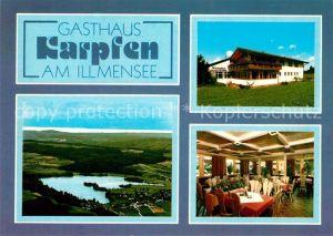 AK / Ansichtskarte Illmensee Gasthaus Karpfen  Kat. Illmensee
