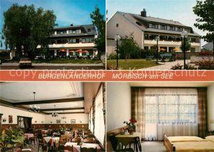 AK / Ansichtskarte Moerbisch See Burgenlaenderhof Gasthaus Pension Kat. Moerbisch am See