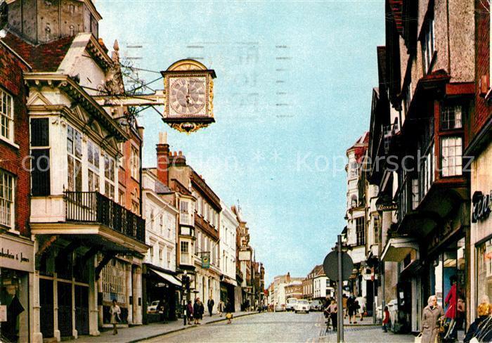 AK / Ansichtskarte Guildford High Street Kat. Guildford