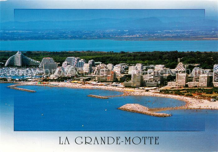 AK / Ansichtskarte La Grande Motte Fliegeraufnahme Kat. La Grande Motte