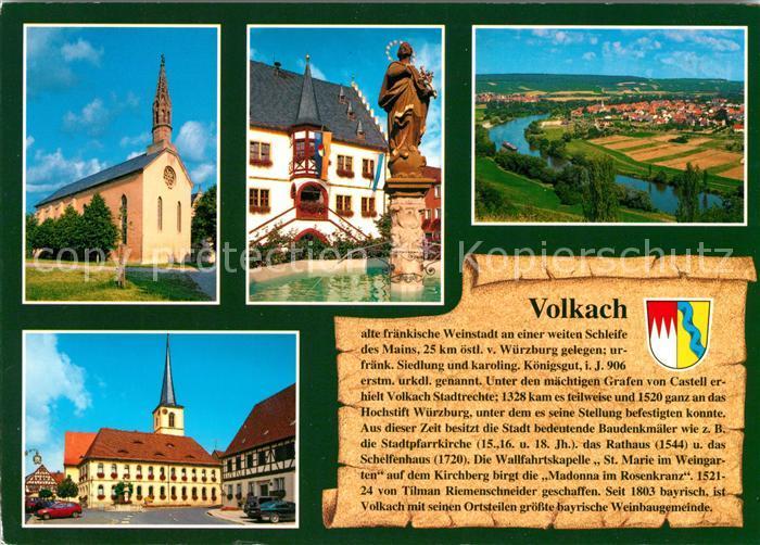 AK / Ansichtskarte Volkach  Kat. Volkach Main