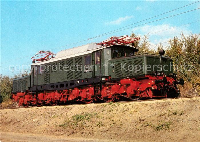 AK / Ansichtskarte Lokomotive Elektrische Gueterzuglokomotive Baureihe 254  Kat. Eisenbahn