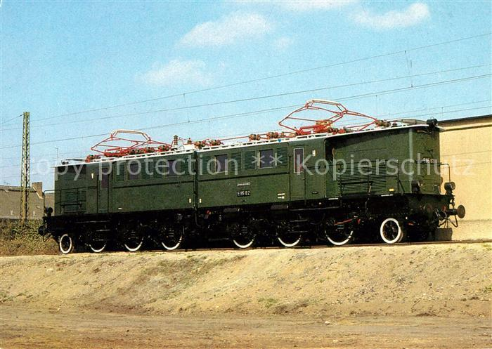 AK / Ansichtskarte Lokomotive Elektrische Gueterzuglokomotive Baureihe E 95 Kat. Eisenbahn