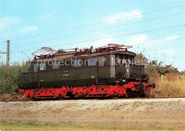 AK / Ansichtskarte Lokomotive Elektrische Lokomotive Baureihe 244  Kat. Eisenbahn