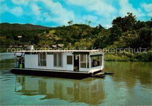 Neu Guinea Sepik River Boot Kat. Australien