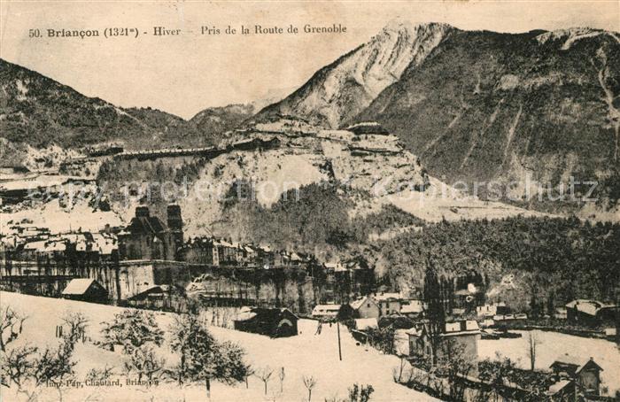 Briancon Pris de la Route Grenoble Kat. Briancon
