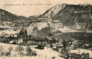 Briancon Pris de la Route Grenoble Kat. Briancon
