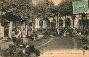 AK / Ansichtskarte Vichy Allier Le petit Parc a l'heure de la Musique Kat. Vichy