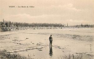 AK / Ansichtskarte Vichy Allier Le Bords de l Allier Kat. Vichy
