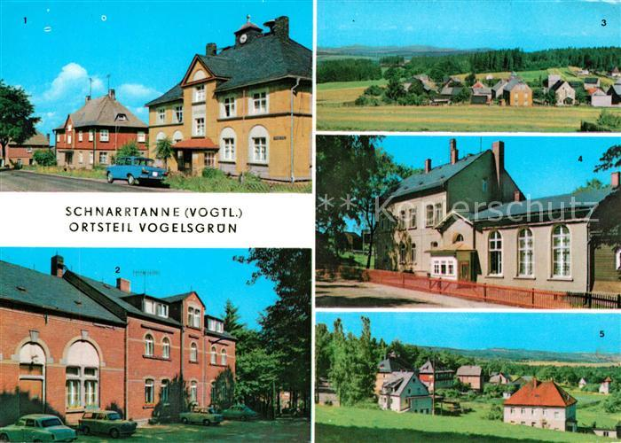 AK / Ansichtskarte Vogelsgruen Schnarrtanne Heim Nema  Kat. Auerbach