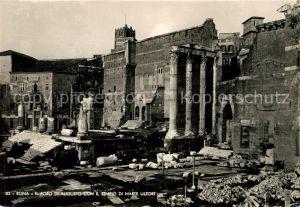 AK / Ansichtskarte Roma Rom Foro di Augusto Con Il Tempio di Marte Ultore Kat.