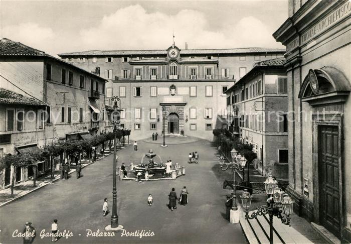AK / Ansichtskarte Castel Gandolfo Palazzo Pontificio