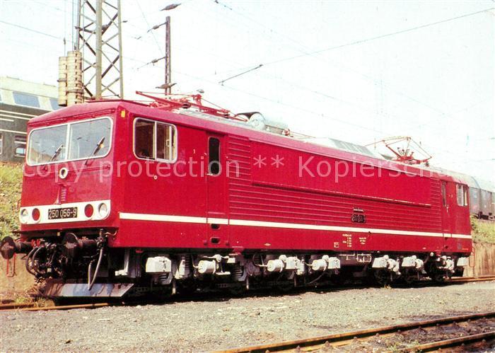 AK / Ansichtskarte Lokomotive Elektrische Lokomotive 250 056 9 Kat. Eisenbahn