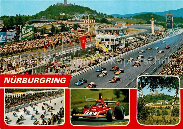 AK / Ansichtskarte Autorennen Formel 1 Nuerburgring  Kat. Autos
