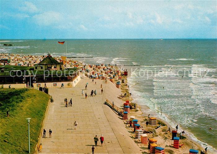 AK / Ansichtskarte Borkum Nordseebad Suedbad Strandcafe Heimliche Liebe Kat. Borkum