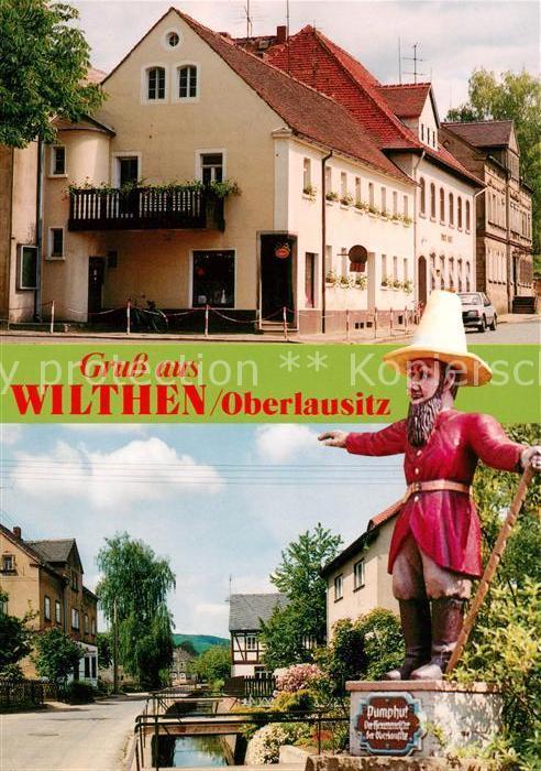 AK / Ansichtskarte Wilthen Postamt Pumphut Hexenmeister der Oberlausitz Kat. Wilthen