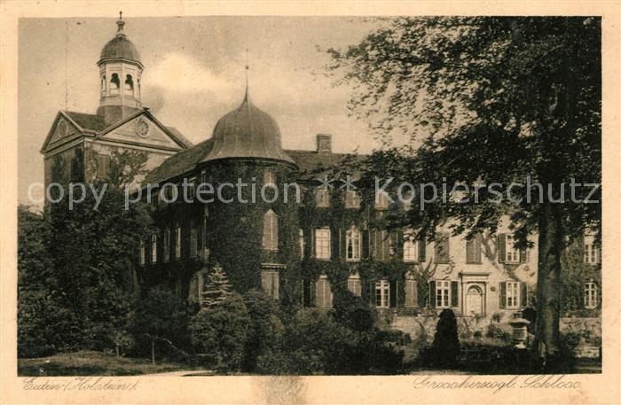 AK / Ansichtskarte Eutin Grossherzogl Schloss Kat. Eutin